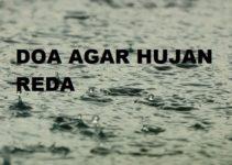 Doa Agar Hujan Reda