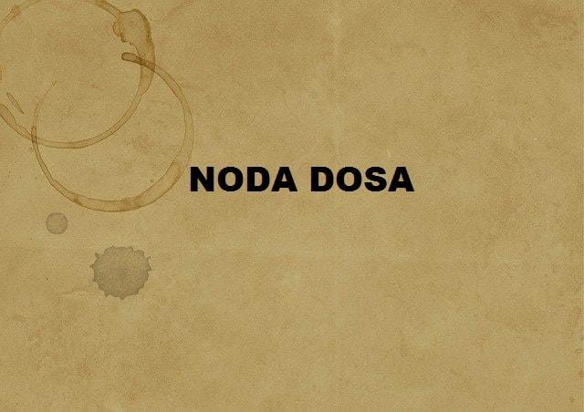 Noda Dosa