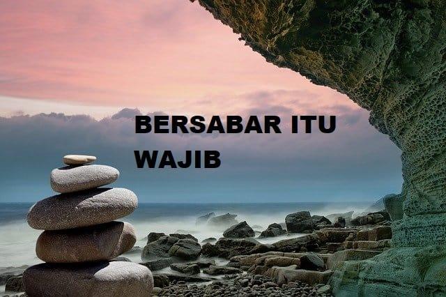 Bersabar Itu Wajib