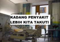 Kadang Penyakit Lebih Kita Takuti