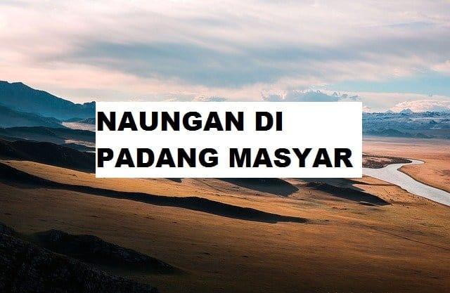 Naungan di Padang Masyar
