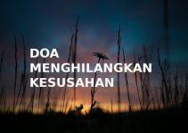 Do'a Menghilangkan Kesusahan