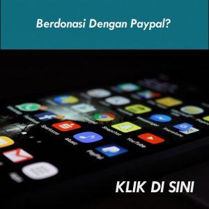 Berdonasi Dengan Paypal