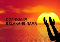 Doa-Doa di Belakang Nama