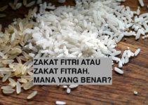 Zakat Fitri atau Zakat Fitrah, Mana yang Benar?